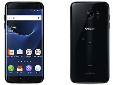 ポイント5倍![中古 訳あり] au Galaxy S7 edge SCV33 ブラック 本体のみ 【白ロム】【スマホ】【格安スマホ】