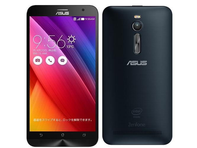 [中古 ジャンク] SIMフリー ASUSTek ZenFone2 ZE551ML(2GB/32GB) ブラック 本体のみ【送料無料】【エコモ】