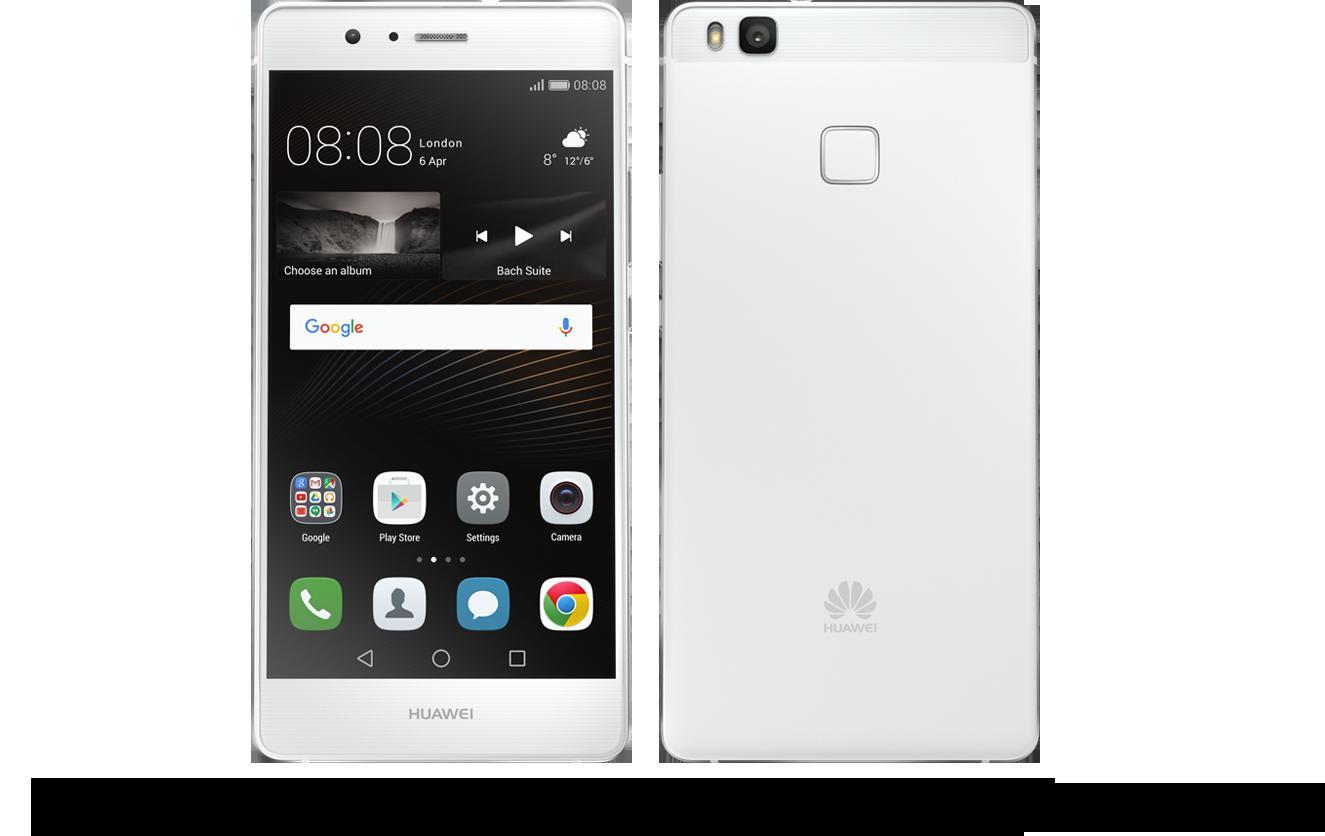 [新品 未使用品] SIMフリー HUAWEI P9 lite ホワイト 【送料無料】【エコモ】