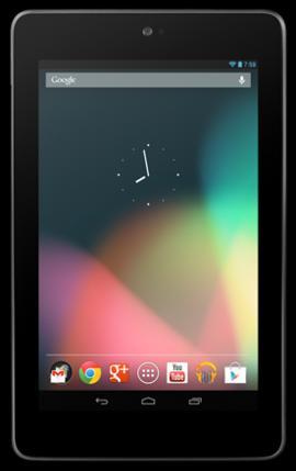【5/20 23:59までECOMO限定ポイント5倍】[中古 Cランク] Google Nexus 7 (2012) Wi-Fi 8GB ブラウン 本体のみ 【白ロム】【タブレット】