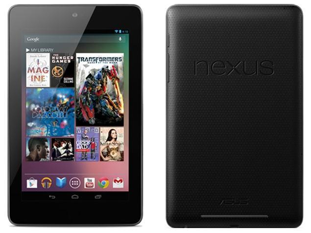 Nexus 7 3G(2012)32GB ブラック 標準セット [Cランク] 【白ロム】