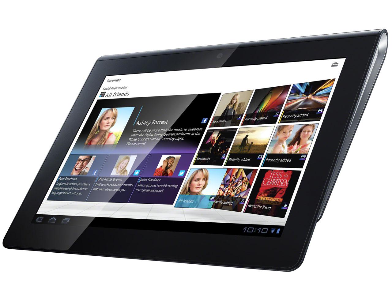[中古 Dランク] SONY Tablet S SGPT111JP ブラック 本体のみ 【白ロム】【タブレット】【スーパーセール限定価格!6/21 01:59まで】