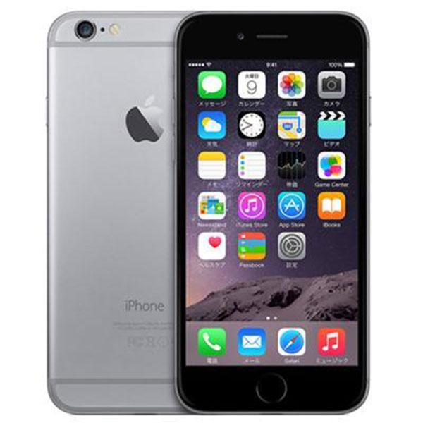 白ロム 中古 au iPhone 6 16GB(au) グレイ 本体のみ [Bランク] IMEI:359308069028011