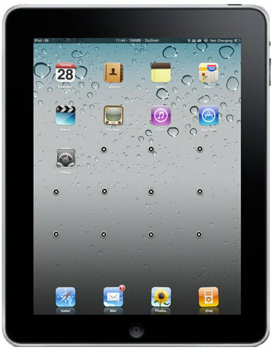 [中古 ジャンク] 【第4世代】softbank iPad 4 Wi-Fi+Cellularモデル 16GB ブラック 本体のみ【送料無料】【エコモ】