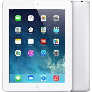 [中古 ジャンク] 【第4世代】softbank iPad 4 Wi-Fi+Cellularモデル 32GB ホワイト 本体のみ 【送料無料】【エコモ】