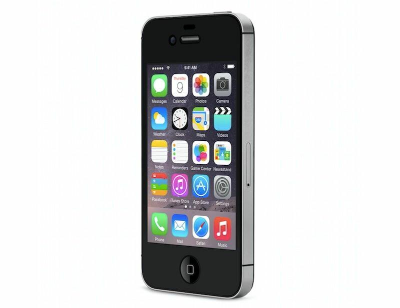 [中古 訳あり] softbank iPhone4S 32GB ブラック 本体のみ【送料無料】【エコモ】