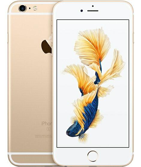 [中古 Dランク] softbank iPhone6S Plus 16GB ゴールド 本体のみ【送料無料】【エコモ】