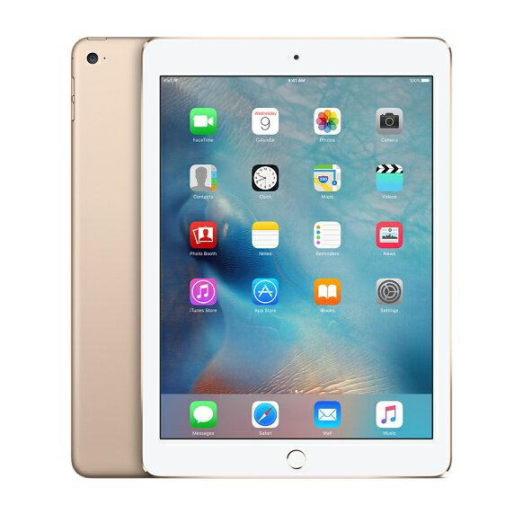 [中古 訳あり] au iPad Air 2 Wi-Fi+Cellularモデル 64GB ゴールド 本体のみ【送料無料】【エコモ】