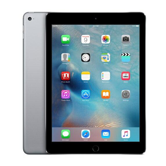[中古 Cランク] softbank iPad Air 2 Wi-Fi+Cellularモデル 128GB グレイ 本体のみ【送料無料】【エコモ】