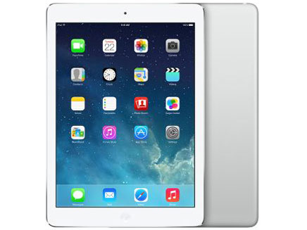 [中古 Bランク] au iPad Air Wi-Fi+Cellularモデル 32GB シルバー 【送料無料】【エコモ】