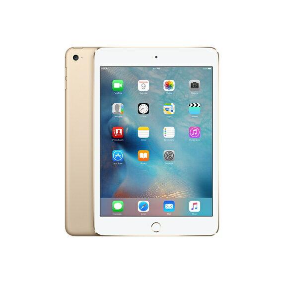 [中古 ジャンク] au iPad mini 4 Wi-Fi+Cellularモデル 16GB ゴールド 本体のみ【送料無料】【エコモ】