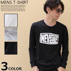【ZI-ONx送料無料】メンズ Tシャツ ロンT ティーシャツ 長袖 カジュアル NEV ネブサーフ サガラ アメカジ 「N49-102」