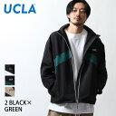 ブルゾン メンズ ジャケット アウター スタンドブルゾン 切替 ナイロンジャケット スポーティ UCLA ZIP ジップ(126103) 送料無料-除外地域有