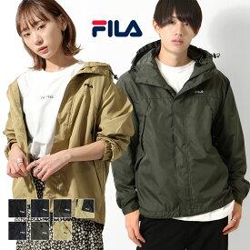 FILA マウンテンパーカー メンズ ジャケット 男女兼用 ブルゾン アウター マンパー 防風 ワンポイント ロゴ刺繍 メンズファッション ZIP FIVE ジップファイブ (fh7630)