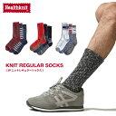 ソックス メンズ ニットソックス 3P セット レギュラーソックス 靴下 くつした ヘルスニット Health Knit ZIP ジップ (191-3-15)