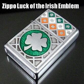 ジッポ ZIPPO 라이터 Luck of the lrish Emblem 네 잎 클로버 21152