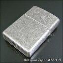 【ZIPPO】ジッポ/ジッポー Antique Silver Plate(アンティークシルバー) 121FB