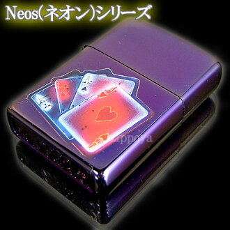 ZIPPO Zippo lighters Zippo lighter SMART ACES Neons neon 20615