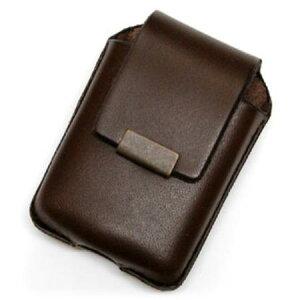 ZIPPOケース ベルト通し付 BROWN ◆ZIPPO ジッポー オイル ライターケース 喫煙具 携帯用 茶 ブラウン