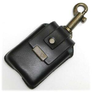 ZIPPOケース キーホルダータイプ BLACK ◆ZIPPO ジッポー オイル ライターケース 喫煙具 携帯用 黒 ブラック