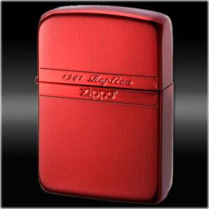 1941レプリカ ミラーライン RD ◆ZIPPO ジッポー オイル ライター 喫煙具 -1941 Replica- Mirror Line Red