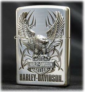 HARLEY DAVIDSON 日本限定モデル ビッグメタル HDP-07 ◆ZIPPO ジッポー オイル ライター 喫煙具 ハーレー ダビッドソン