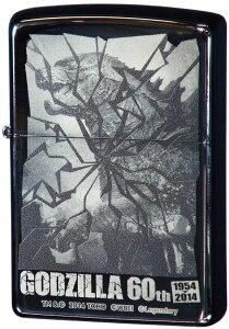 GODZILLA 60th ゴジラ 60周年記念 ハリウッドA ◆ZIPPO ジッポー オイル ライター 喫煙具