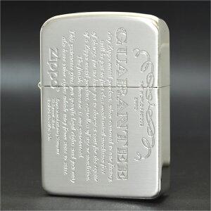 1941レプリカ ギャランティー 銀サテン 41GRT-SS ◆ZIPPO ジッポー オイル ライター 喫煙具 -1941 Replica- Guarantee Silver Stain