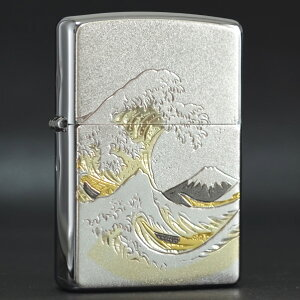 電鋳板 「波富士」 ◆喫煙具 ZIPPOライター ジッポー オイルライター
