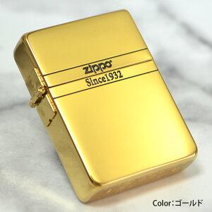 1935ベーシック チタンコーティング 両面ロゴ【ゴールドチタン】◆喫煙具 ZIPPO ジッポー オイルライター 1935レプリカ チタンメッキ シンプル ワンポイント 金色 高級感 プレゼントにおすすめ