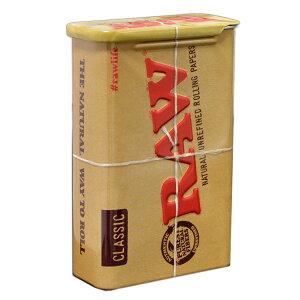RAW スライド缶ケース ◆手巻き シャグ RYO タバコ 喫煙具 ロウ RAW ナチュラル 無添加