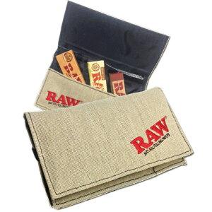 RAW トラベル マルチ シャグ ポーチ ◆手巻き シャグ RYO タバコ 喫煙具 ロウ RYO ナチュラル 無添加