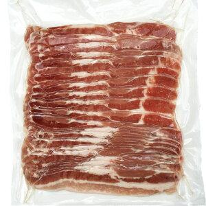 豚バラスライス 豚ばら肉が数量限定の大特価! 業務用人気のチリ産 3mm 500g 生姜焼き 炒め物 回鍋肉 中華 焼きしゃぶ