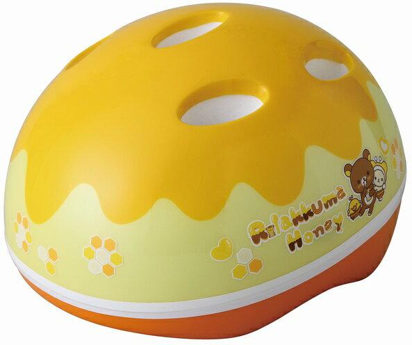 【自転車用ヘルメット】サンリオ M&M(エムアンドエム) SG対応ヘルメット 「リラックマ」 ハニー&スマイル 【子供用ヘルメット】