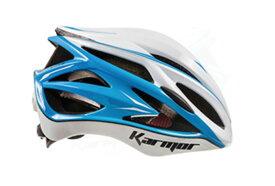 ★送料無料(一部地域除く) KARMOR(カーマー) ASMA2(アスマ2) ホワイト×ライトブルー 自転車 ヘルメット