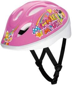 【自転車用ヘルメット】アイデス 子供用ヘルメット 「ミニーマウスPP」 ディズニー キッズヘルメットS
