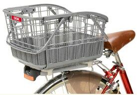 【自転車用後ろかご】 OGK(オージーケー) RB-037B2 (着脱籐風スライドうしろバスケット)