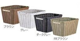 丸石Maruishi(マルイシサイクル)  前後共用超大型籐風樹脂カゴ (ふらっかーずシリーズ専用前後かご)