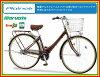マルイシサイクル 프리 네일 벨트 (Plainair) 3 단 변속 된 27 인치 자전거 (PNBP273F)