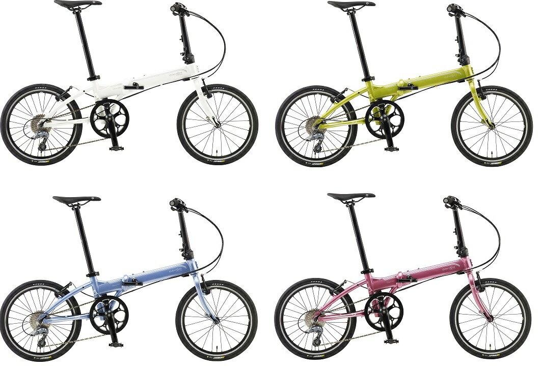 ■送料無料!(一部地域除く) DAHON international[ダホン インターナショナルモデル] Vitesse D8[ヴィテッセ] 20インチ折り畳み自転車 フロントライト、防犯登録付き!
