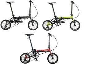●送料無料(一部地域除く) 2020年モデル DAHON(ダホン) K3(ケースリー) 14インチ 折りたたみ自転車 フォールディング