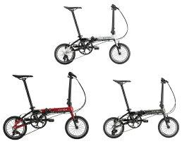 [MKS社着脱ペダル UX-D EZY、スリップバッグミニYKK、フロントライト付属] 送料無料(一部地域除く) 2021年モデル DAHON(ダホン) K3(ケースリー) 14インチ 折りたたみ自転車 フォールディング 【予約商品 2021年10月下旬頃入荷予定】