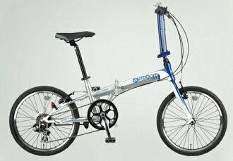 아웃 도어 브랜드 (OUTDOOR) 「 ODP-FDB207 」 20 인치 7 단 변속 접는 자전거