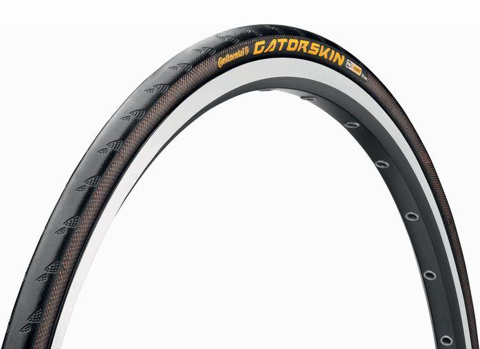 ●【国内正規代理店品】 Continental(コンチネンタル) Gatorskin(ゲータースキン) ロードバイク、クロスバイク用 クリンチャータイヤ 700C(622) フォルダブル