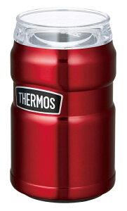THERMOS(サーモス) 保冷缶ホルダー 350ml缶用 ROD-002 クランベリー【北海道・沖縄・離島地域 配送不可】