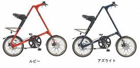 ★送料無料(一部地域除く) STRIDA EVO 18(ストライダ エボ 18) 18インチ折り畳み自転車 3段変速 キックスタンド、輪行袋(ST-BB-007)標準装備、フロントライト+ダブルループロングワイヤー錠サービス