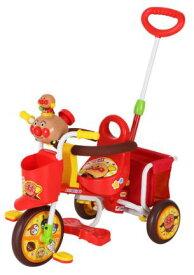 M&M(エムアンドエム) わくわくアンパンマンごうピースII 子供用三輪車【カラー:レッド】