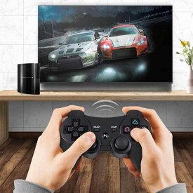 PS3 ワイヤレスコントローラー 振動機能 Bluetooth接続 PS3 コントローラー ワイヤレス振動機能 人間工学 高耐久ボタン PS3周辺機器 送料無料