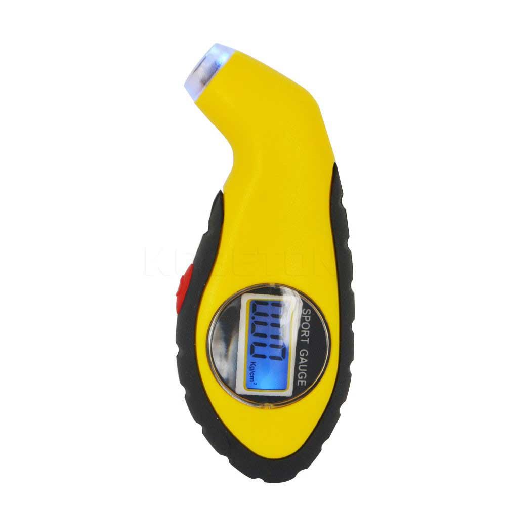 デジタルタイヤゲージ 空気圧計 バックライト10.0kg/cm2