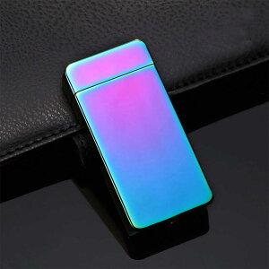 プラズマライター チタン 電子ライター アークライター usb充電式 風に強い 放電